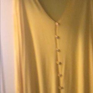 Yellow dress/duster